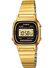 Casio Collection Damen Retro Armbanduhr