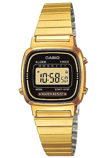 0efa420be541 Casio Reloj de Pulsera LA670WEGA-1EF  Amazon.es  Relojes