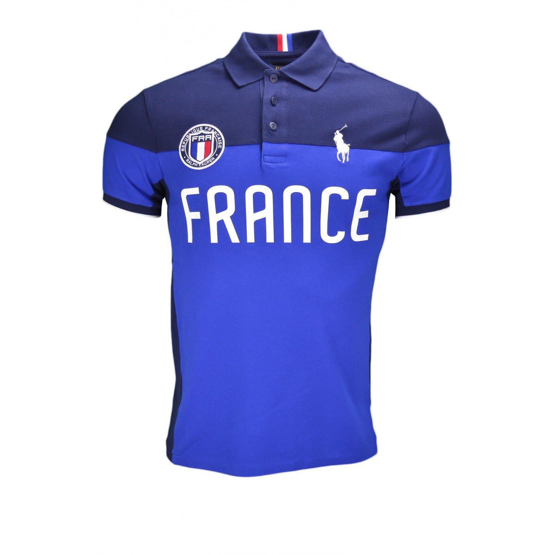 Ralph Lauren France Polo Shirt Blue Xxl Amazon Shoes Bags