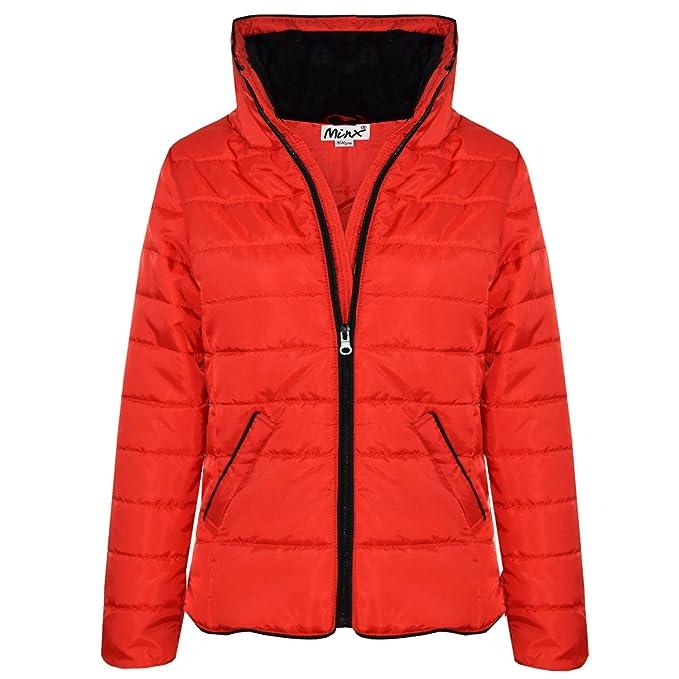 6806de6f16a8 Amazon.com  A2Z 4 Kids® Girls Jacket Kids Red Padded Puffer Bubble ...