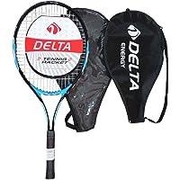 Delta Unisex Tenis Raketi (Deluxe Askılı Çantalı) Energy, Mavi, Tek Beden, Tn-Rkt-Energy