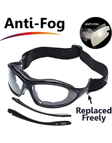 0716991b36 SAFEYEAR Gafas de Seguridad Antiempañamiento -SG002 Gafas Protectoras  trabajo Bicicleta con Protección UV laboral laboratorio