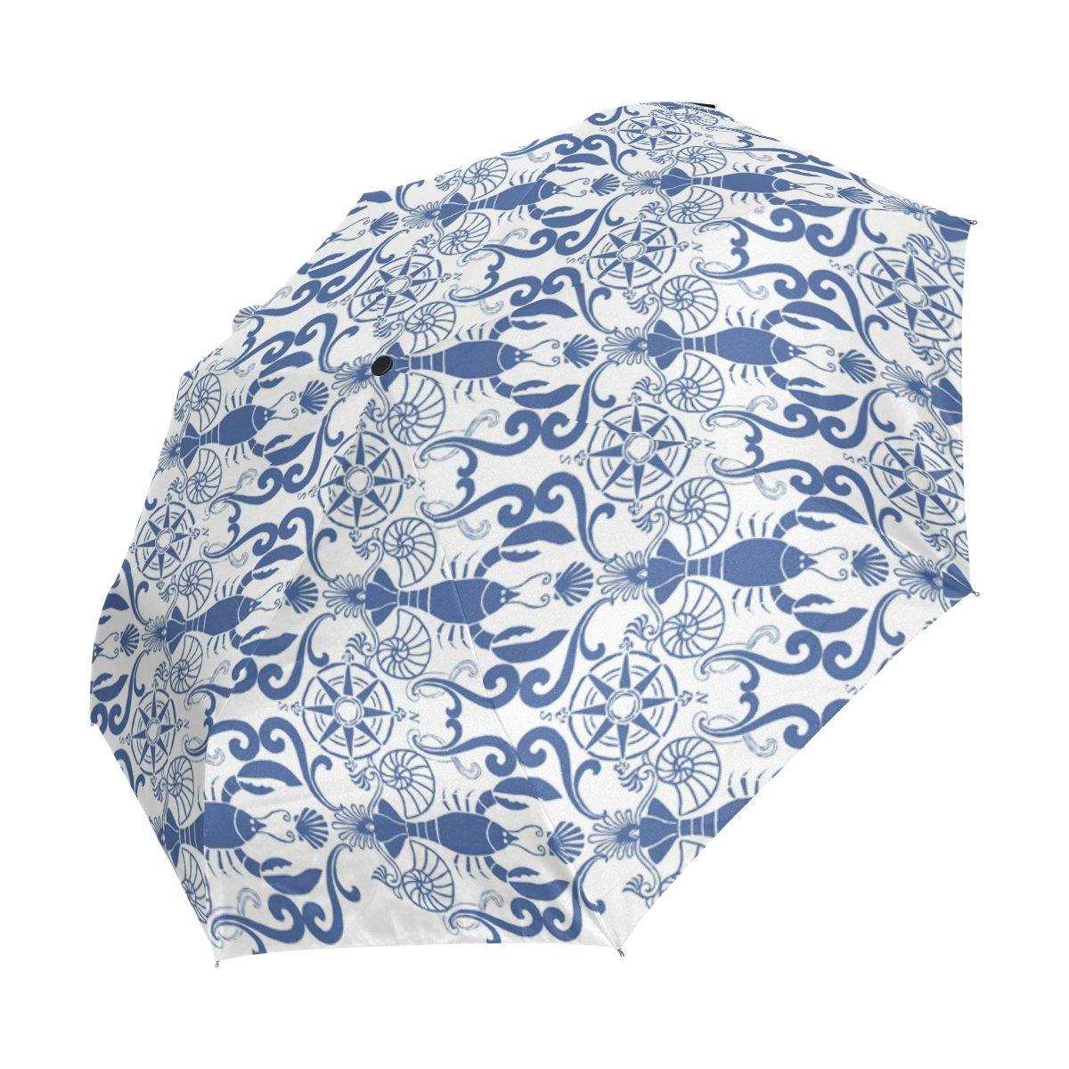f43d5bbb3c1a Amazon.com : imobaby White Animal Crayfish Umbrella UV Anti ...