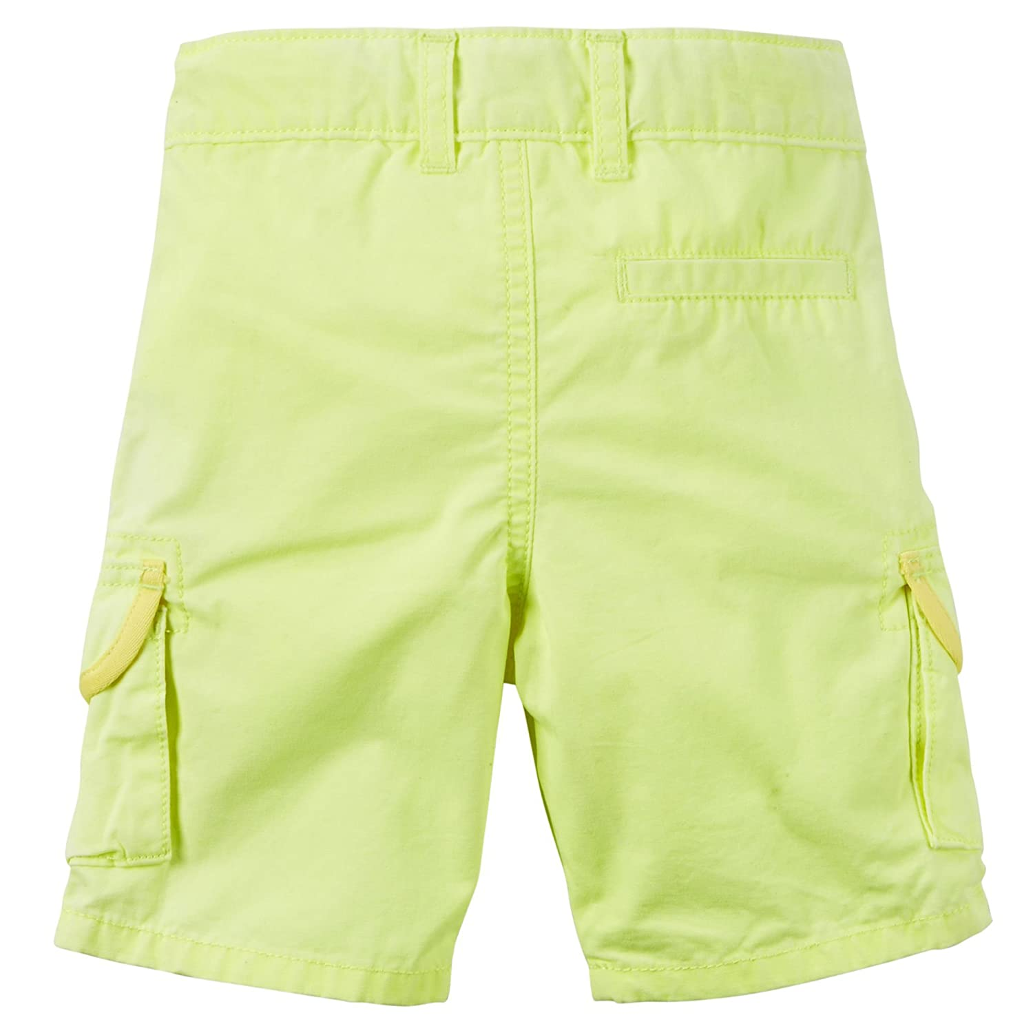 Carters Baby Boys Yellow Canvas Cargo Shorts 3 Months