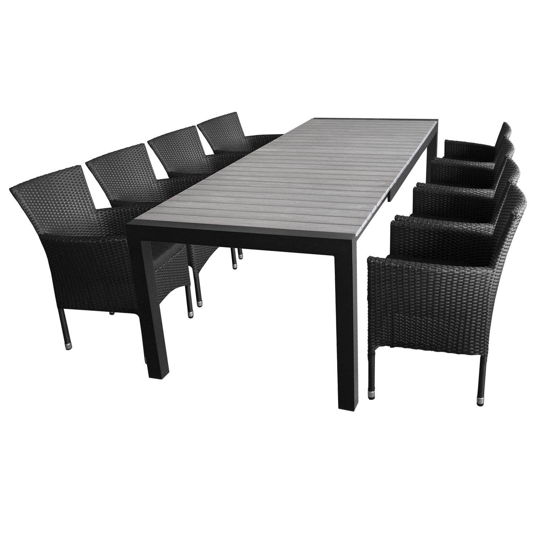 9tlg Sitzgarnitur Gartengarnitur Gartenmobel Terrassenmobel Set