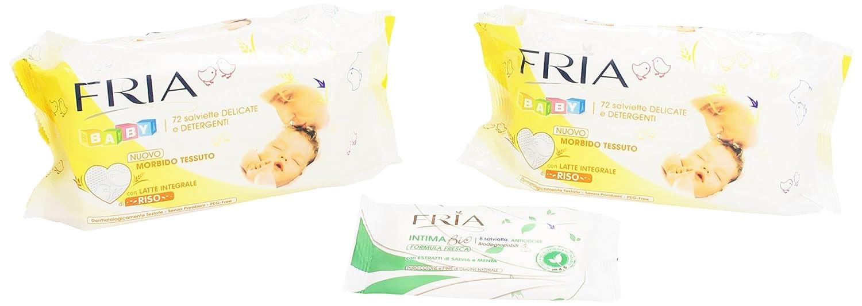 Fria - Toallitas húmedas, paquete de 2 (2 x 72 toallitas): Amazon.es: Salud y cuidado personal