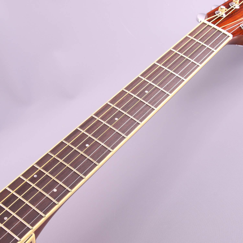 Yamaha fsx820 C pequeño cuerpo Cutaway Guitarra Electroacústica ...