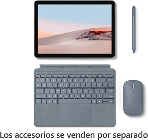 Microsoft Surface Go 2 de 1 Ordinateur Portable 10 5 Full HD WLAN Intel Pentium Gold 4425Y Windows 10 Home Platinum Platine WLAN 4 GB RAM 64 GB