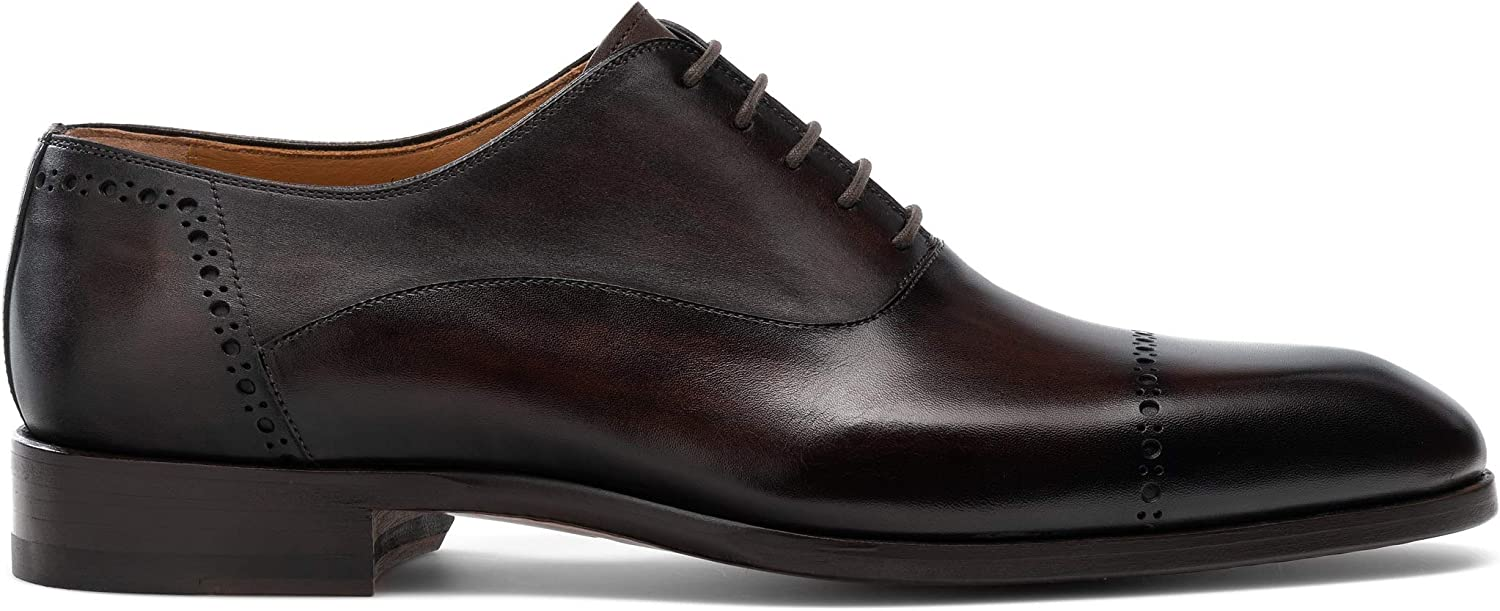 Magnanni Burton Brown Mens Lace-up Shoes