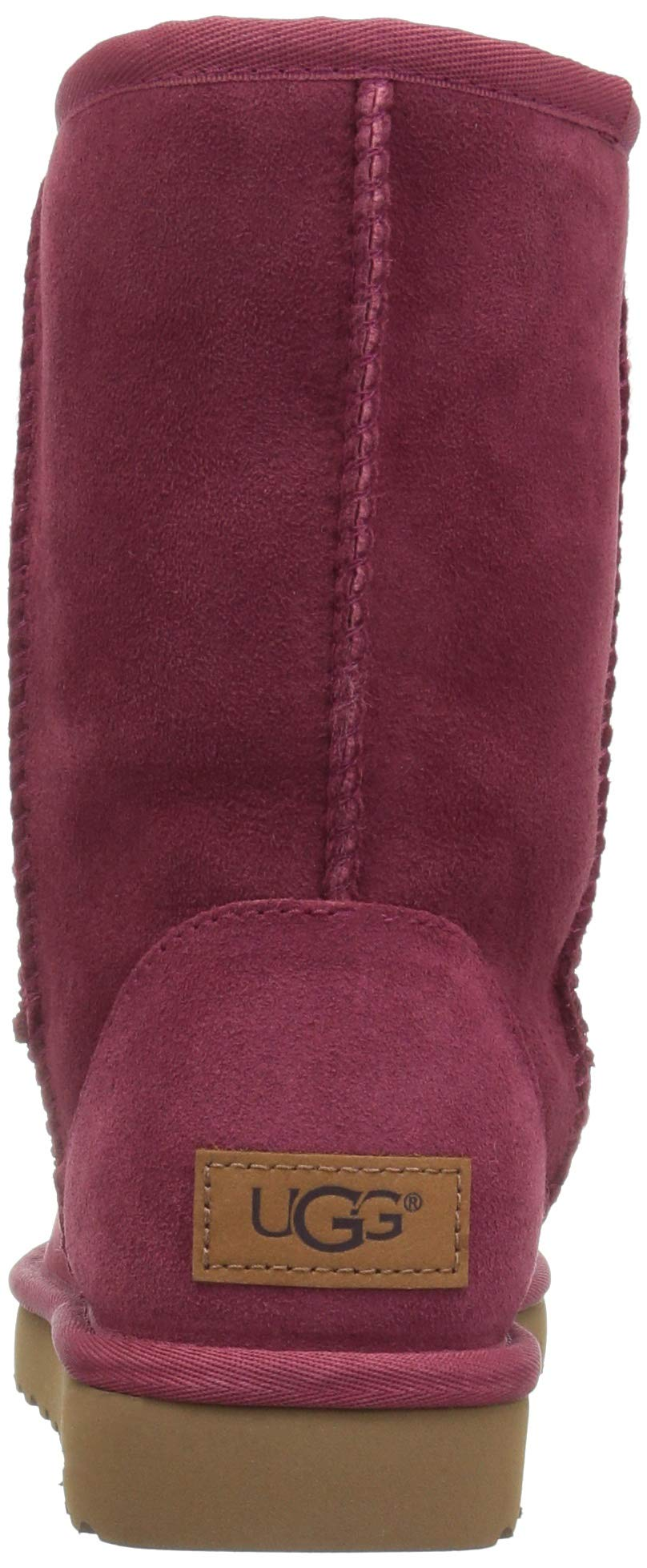 d8df0ae1806 UGG Classic Short II Garnet Red Water-resistant BOOTS Women US 10/ EUR 41
