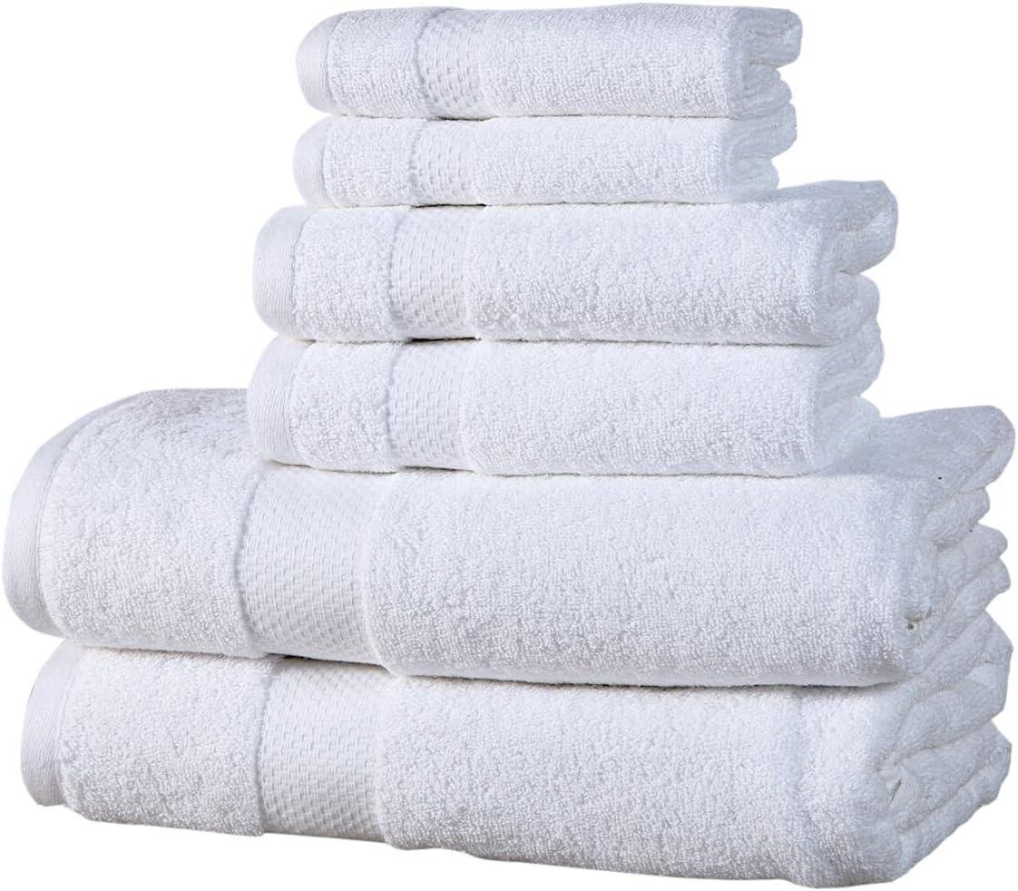 Affinity Home Collection ESP6PCTWL-CHR Towel Set