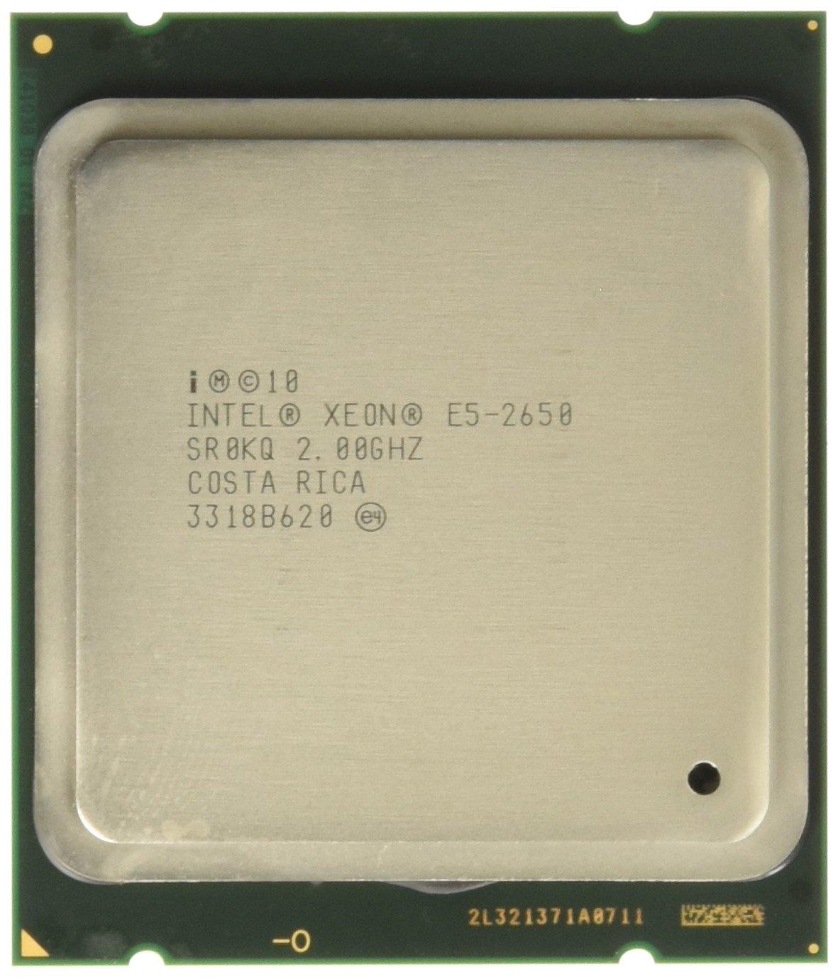Intel Xeon ® ® Processor E5-2650 (20M Cache, 2.00 GHz, 8.00 GT/s ® QPI) 2GHz 20MB Smart Cache Caja - Procesador (2.00 GHz, 8.00 GT/s Intel® QPI), ...
