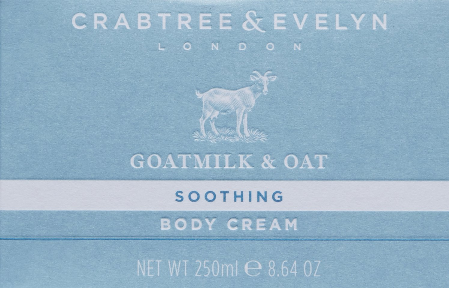Crabtree & Evelyn goatmilk y avena crema corporal, 250 g: Amazon.es: Belleza