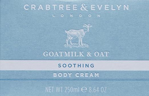 Crabtree & Evelyn goatmilk y avena crema corporal, 250 g: Amazon.es: Belleza