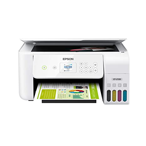 Amazon.com: Epson EcoTank ET-2720 Wireless Color All-in-One ...