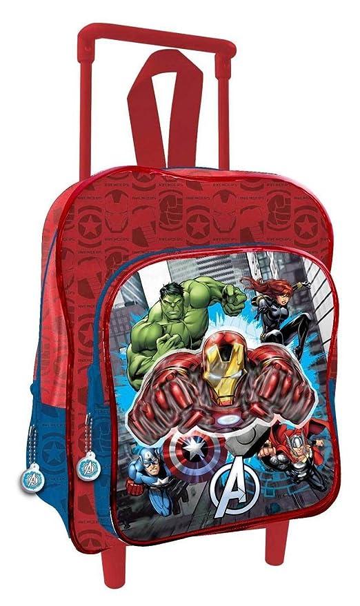 30f80df660 Avengers : Trolley Scuola- Asilo - Materna: Amazon.it: Giochi e ...