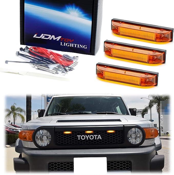 2007-2013 Toyota FJ Cruiser Sidemarker HP3 LEDs Amber pair