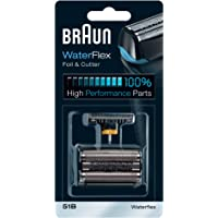 Braun Series 5 51B Electric Shaver Replacement Foil and Cutter, Black