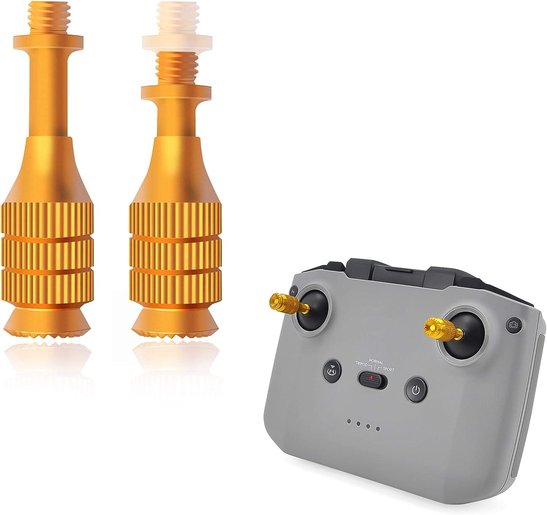 Amazon Com Tomat Mavic Air 2 Remote Control Telescopic Rocker Joystick For Dji Mini 2 Mavic Air 2 Smart Controller Drone Accessories Rocker Joystick Toys Games