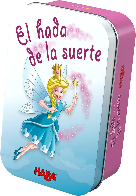 HABA- Juego de Mesa, El Hada de la Suerte, Multicolor (Habermass ...