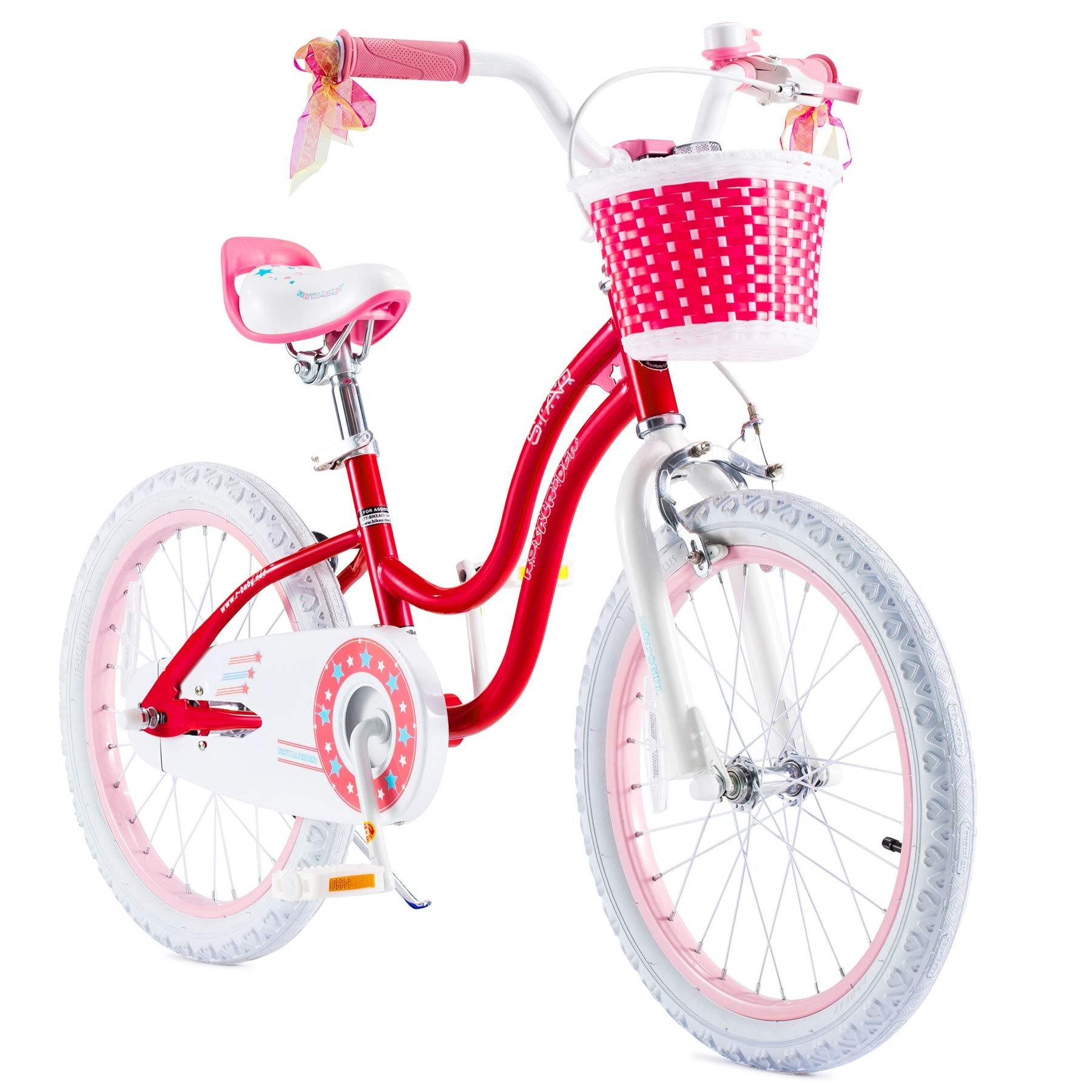 Training Wheels for 12 14 16 Easy Assembly Kids Bike RoyalBaby Stargirl Girls Bike Gift for Girl Kickstand for 16 18 Bicycle
