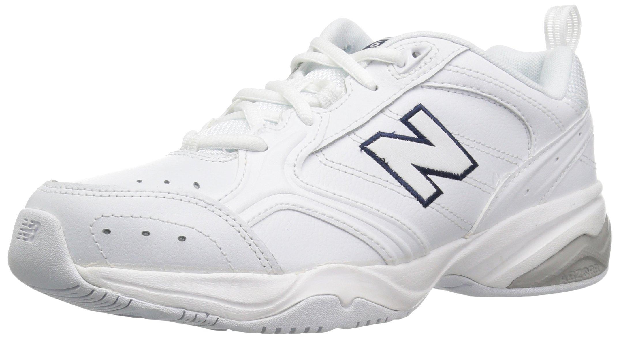 New Balance Women's WX624v2 Training Shoe, White, 8 B US by New Balance