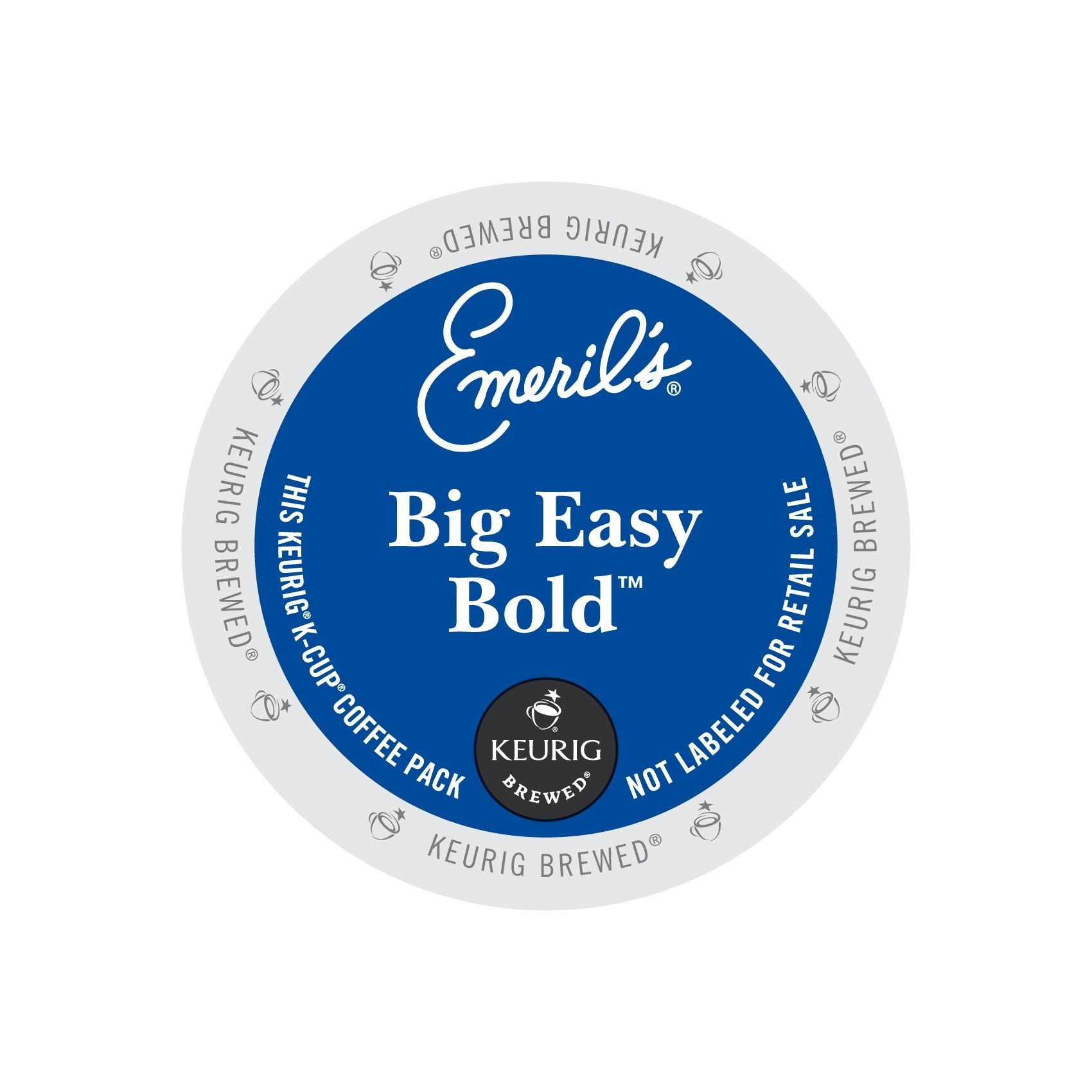 Emeril's Big Easy Bold Coffee K-Cup Portion Pack for Keurig Brewers, 96-Count by Emeril Coffee