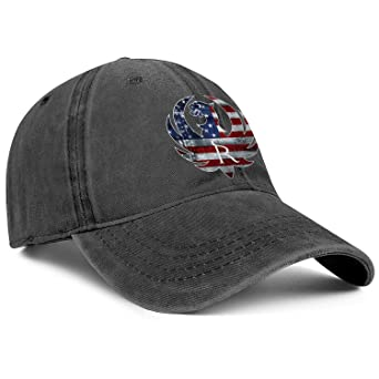 Mens Womens Outdoor Cap Baseball Classic Snapback-Ruger-Sturm-Cotton Hat Printed