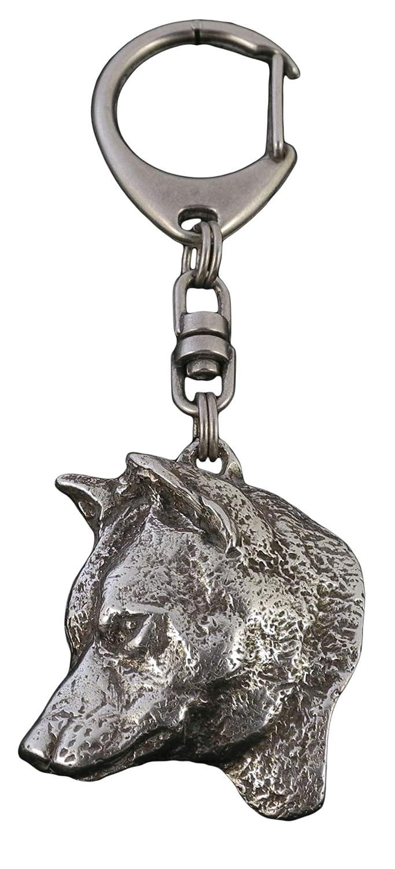 Shiba Inu, llavero del perro, ArtDog: Amazon.es: Joyería