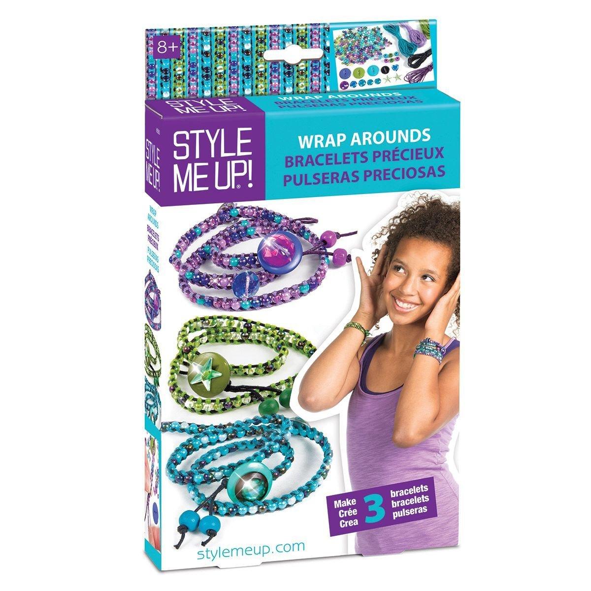 Wrap-Around Juegos creativos 00563 Pulseras peque/ña Caja Estilo ME UP