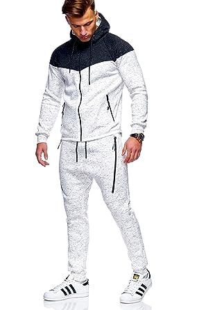 regard détaillé aspect esthétique super pas cher se compare à MT Styles jogging survêtement ensemble pantalon + sweat-Shirt R-971