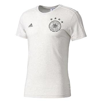 Adidas DFB Gr tee BST Camiseta Federación Alemana de Fútbol, Hombre, Blanco (Whtmel