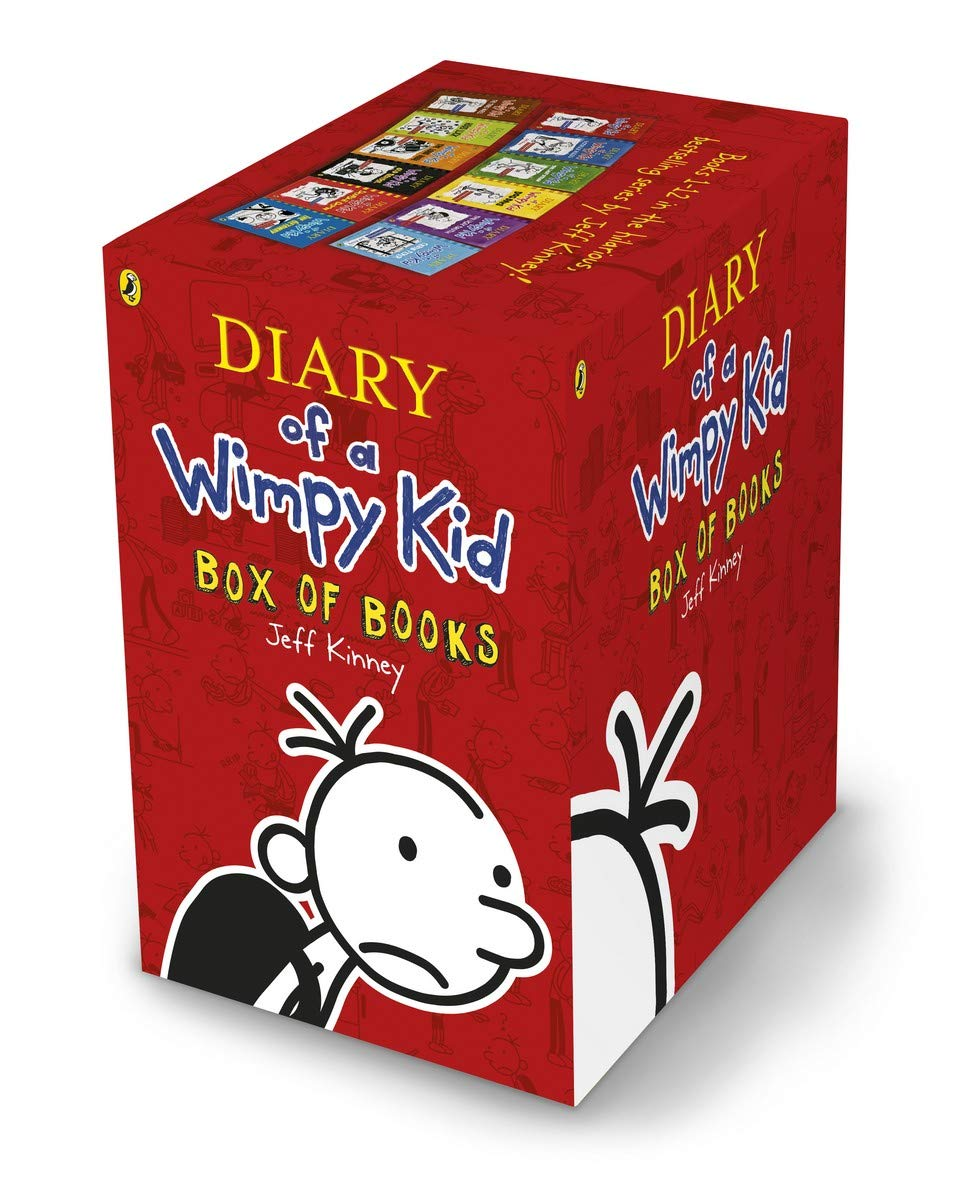 Diary of a Wimpy Kid Box Set - Books 1-12 Paperback – 15 October 2019