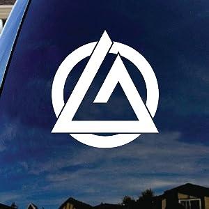 "SoCoolDesign Jiu Jitsu Fighting Silhouette Car Window Vinyl Decal Sticker 5"" Wide (White)"