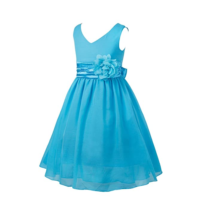 iEFiEL Vestido Elegante de Princesa Fiesta para Niña Vestido Infantil Flor Boda Niña: Amazon.es: Ropa y accesorios