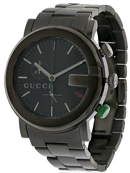 3f0f23a0 Gucci Men's YA101331 G Chrono Watch