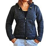 bonzaai veste hiver femme laine de mouton gilet en laine veste en laine femme manteau capuche Selbstverständlich