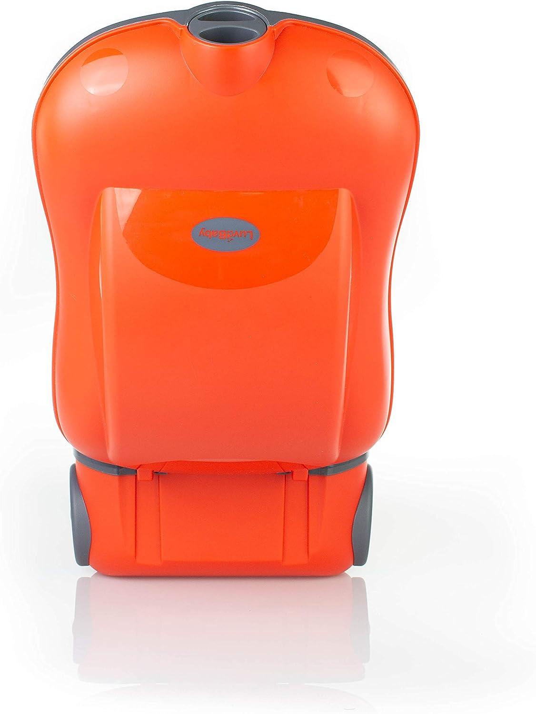 Le Pot pour B/éb/é qui Rend lApprentissage de la Propret/é Amusant Luvdbaby le Pot dEnfant Portable pour le Voyage le Pot de B/éb/é pour Transporter avec le Couvercle Scellable