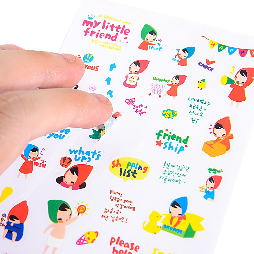 Christmas Sticker Collection Set of 1344+ PCS-Variety Sticker Pack-7 PVC Sticker Sheets Per Pack-Decorative Sticker Collection for Scrapbooking, Bullet Journals,Calendars, Arts, Kids DIY Craft, Album. by sinceroduct (Image #7)