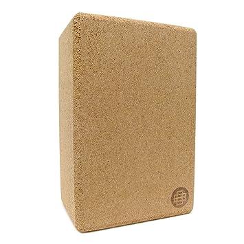 Banyan and Bo Natural Cork Yoga Brick: Amazon.es: Deportes y ...