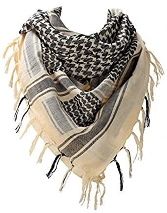 WODISON Army Military Shemagh Arab Desert Keffiyeh Scarf Wrap Tactical  Style for Women and Men 67910be03