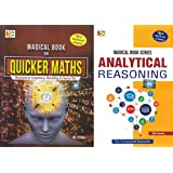 COMBO PACK OF Magical Books On Quicker Maths AND Analytical Reasoning FOR 2019 EXAMINATION
