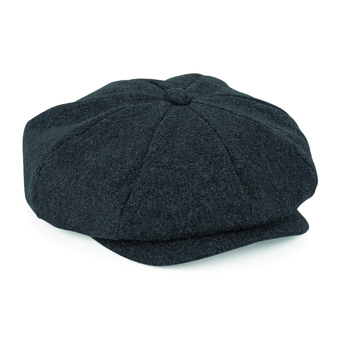 c11ff1acd33 Flat Cap with Peak  Shelby  Baker Boy Newsboy Herringbone Cloth Cap Hat  product image