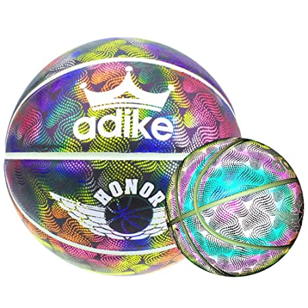 HoloHoops Holographic glühende Reflectantes Basketball Luces de la ...