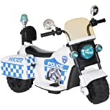 Volt 1437141 Battery Operated Police Bike