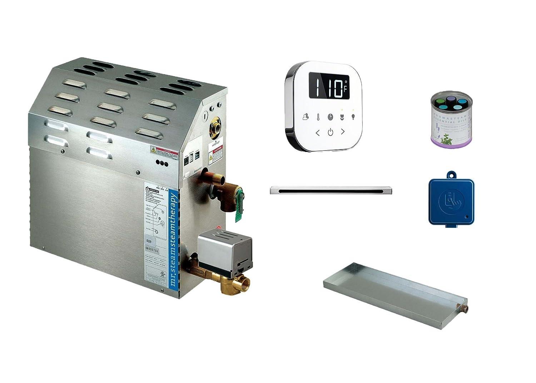 Mr Steam MS-Super 2-EC1 12 KW Steam Bath Generator with Air