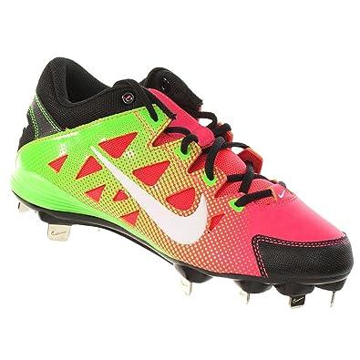 879ad492a Nike Hyperdiamond Strike MTL Softball Cleats (10) Green