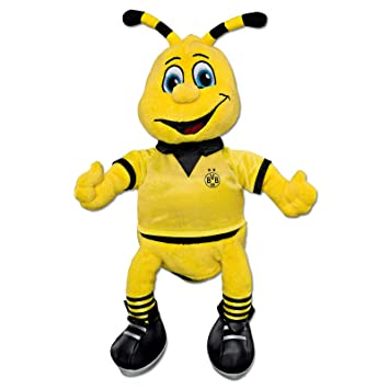Buy Borussia Dortmund Football Club Childrens Bvb 30cm Emma Mascot Plush Yellow Online At Low Prices In India Amazon In