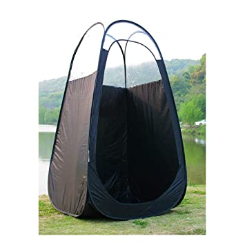 BLACK-Tanning Pop Up Tent Changing Clothes Stand Up C&ing Tent - Airbrush Spray Tan  sc 1 st  m.amazon.com & Amazon.com: BLACK-Tanning Pop Up Tent Changing Clothes Stand Up ...