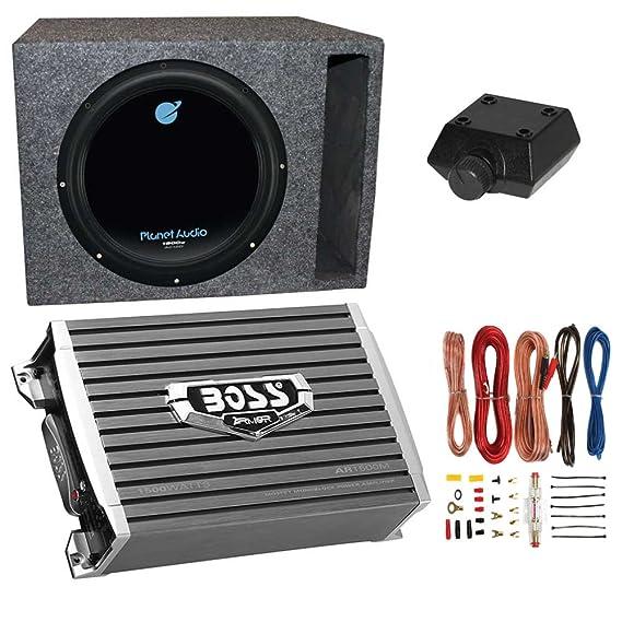 amazon com planet audio 1800w subwoofer boss 1500w amplifier rh amazon com planet audio ac12d wiring diagram planet audio p9640b wiring diagram